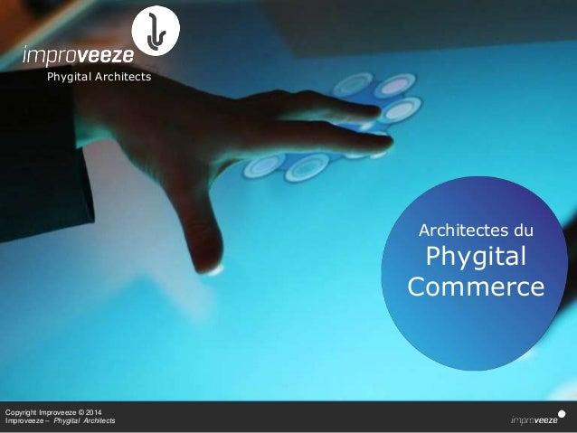 Copyright Improveeze © 2014 Improveeze – Phygital Architects Phygital Architects Architectes du Phygital Commerce