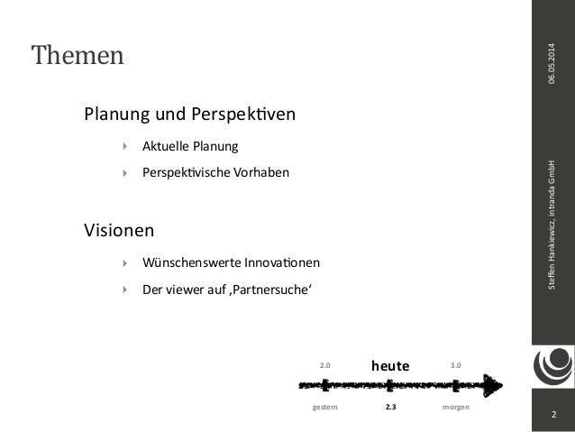 2. intranda viewer Tag: Ausblick Slide 2