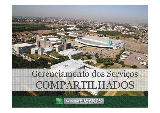 Gerenciamento dos Serviços COMPARTILHADOS