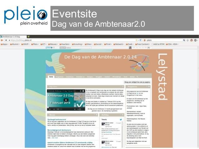 Eventsite Dag van de Ambtenaar2.0