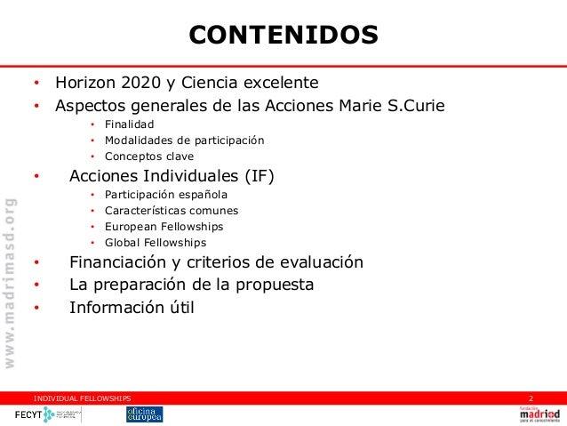 20140509_Infoday regional H2020_MC-VLC_Jesús Rojo Slide 2