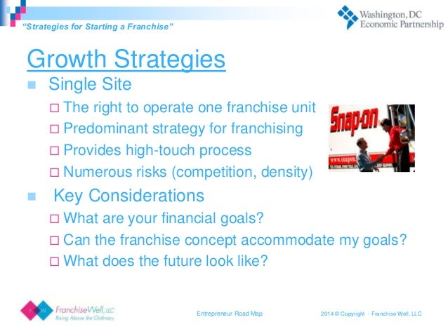 Franchising Entrepreneur Roadmap FranchiseWell LLC