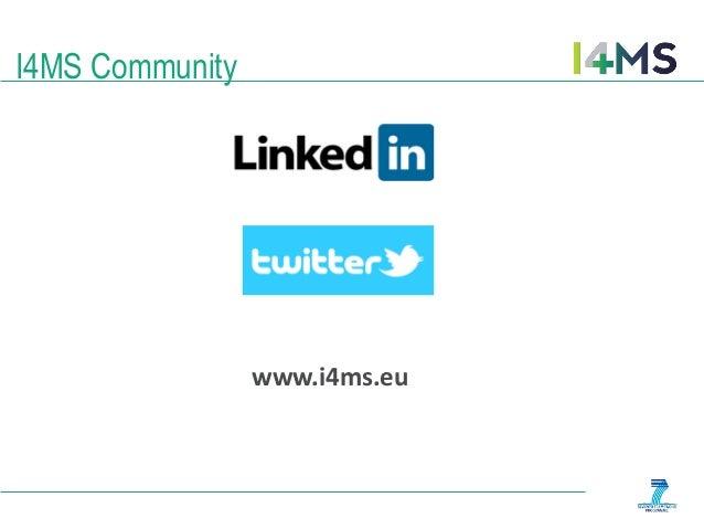 www.i4ms.eu I4MS Community