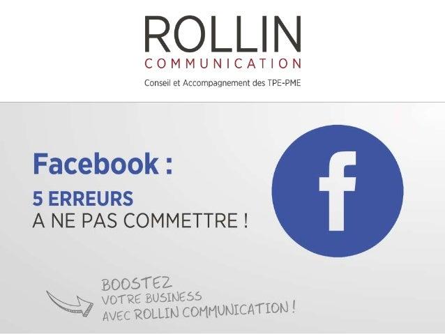 1. CRÉER UNE PAGE PROFIL EN TANT QU'ENTREPRISE Les conditions générales d'utilisation de Facebook sont claires : une entre...