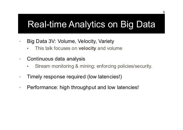 Realtime Analytics Slide 3
