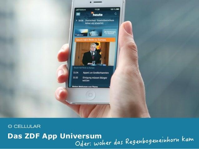 Das ZDF App Universum Slide 2