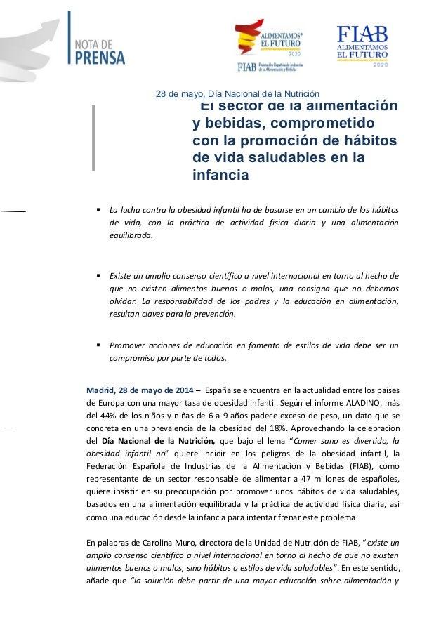 El sector de la alimentación y bebidas, comprometido con la promoción de hábitos de vida saludables en la infancia  La lu...