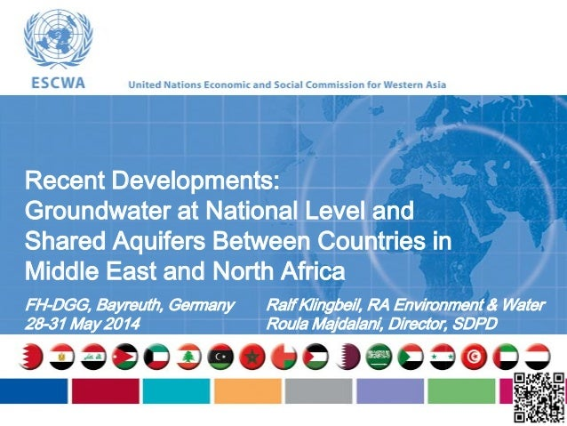 Recent Developments: Groundwater at National Level and Shared Aquifers Between Countries in Middle East and North Africa F...
