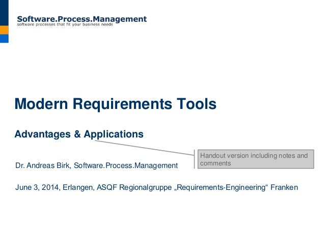 Modern requirements tools advantages applications modern requirements tools advantages applications dr andreas birk softwareocess malvernweather Images