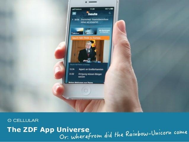 The ZDF App Universe Slide 2