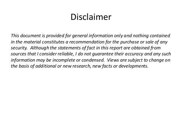 Gambling Disclaimer