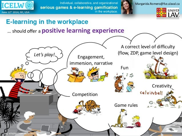 e learning in the workplace I have been running the learning in the workplace survey for 5 years now, and after over 5,000 responses from 63 countries worldwide the results are clear: company training is the least valued way of learning in the workplace in this article i want to look at what the survey tells us and what the results.