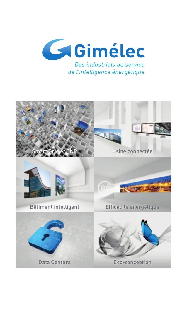Efficacité énergétique Usine connectéeSmart Grid et ENR Bâtiment intelligent Éco-conceptionData Centers