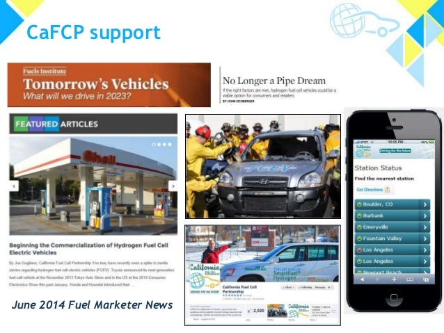 CaFCP support June 2014 Fuel Marketer News