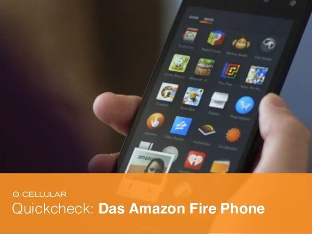 Quickcheck: Das Amazon Fire Phone