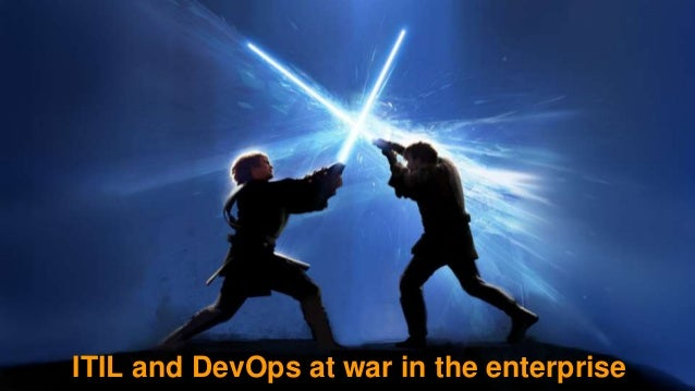 ITIL and DevOps at war in the enterprise