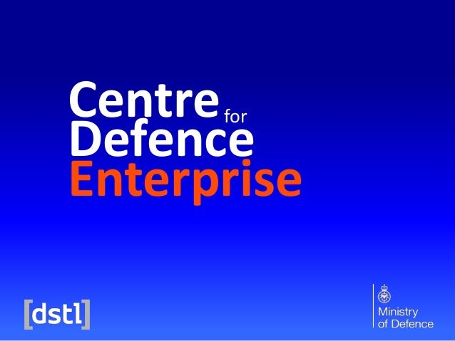 Centre Defence Enterprise for