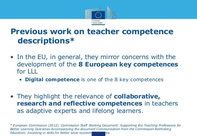 teachers competence Measuring competencies—patterns of thinking, feeling, speaking and acting— that distinguish high-performing principals and teachers is a powerful tool for.