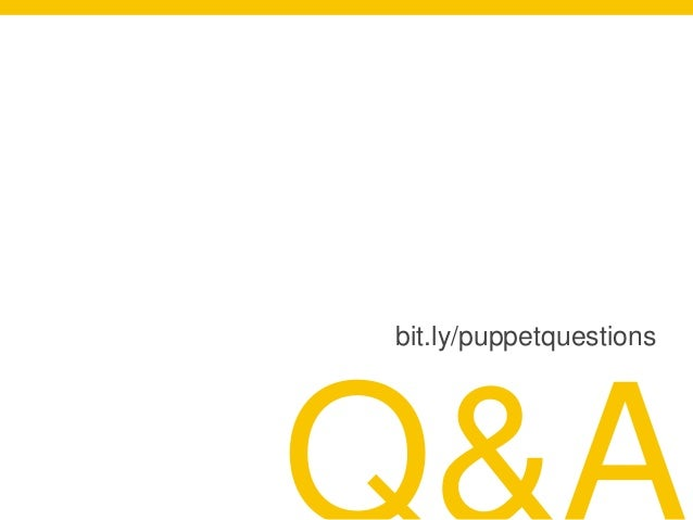bit.ly/puppetquestions