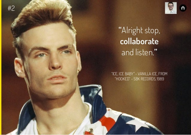 Alright stop collaborate and listen