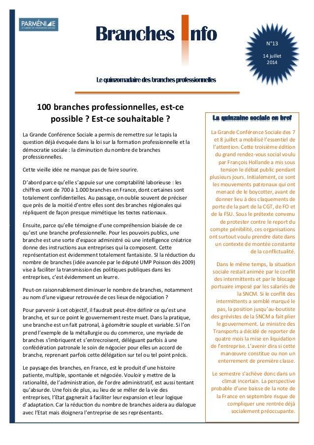 1    BranchesInfoestunepublicationdeParménide Branches Info N°13 14juillet2014 N°13   14  juillet   2014   La  ...