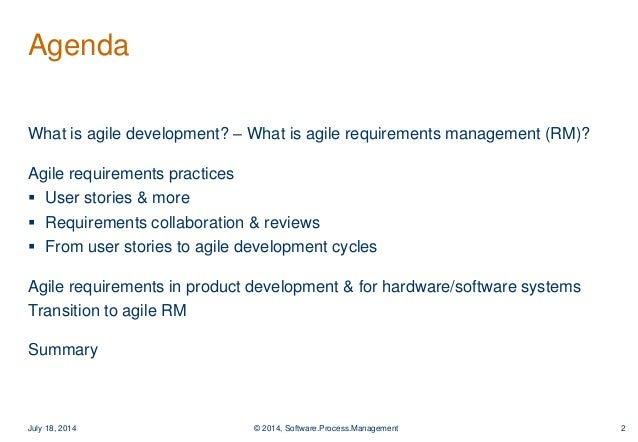 Agiles Requirements-Management zum Erfolg führen am Beispiel Jama C…