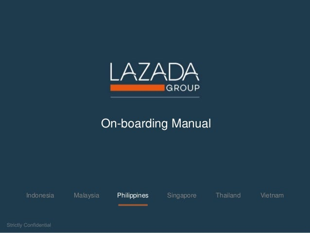 Lazada Onboarding - Philippines
