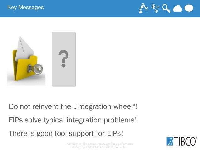 Kai Wähner - Enterprise Integration Patterns Revisited © Copyright 2000-2014 TIBCO Software Inc. Key Messages Do not reinv...