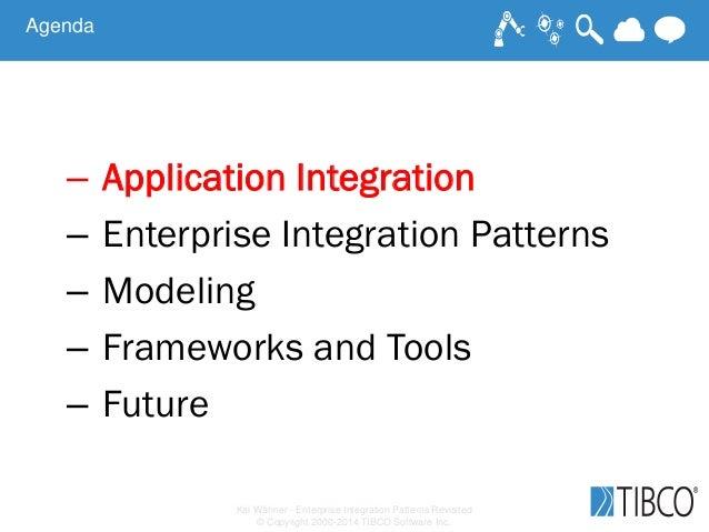 Kai Wähner - Enterprise Integration Patterns Revisited © Copyright 2000-2014 TIBCO Software Inc. Agenda – Application Inte...