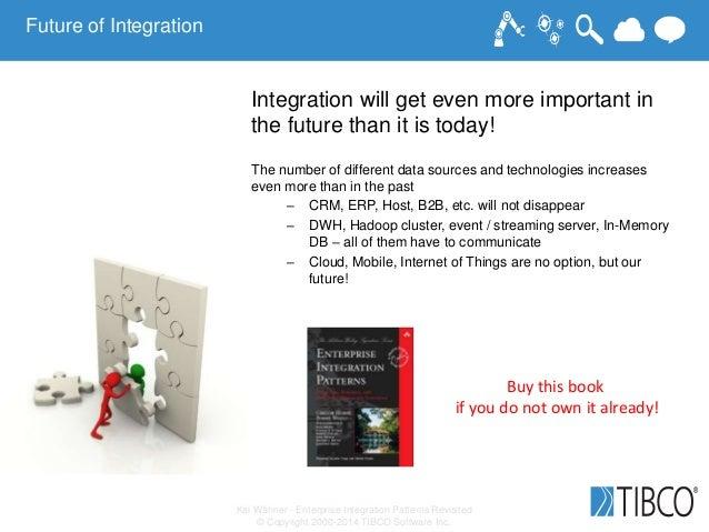 Kai Wähner - Enterprise Integration Patterns Revisited © Copyright 2000-2014 TIBCO Software Inc. Future of Integration Int...