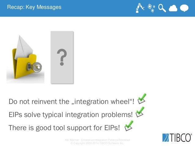 "Kai Wähner - Enterprise Integration Patterns Revisited © Copyright 2000-2014 TIBCO Software Inc. Do not reinvent the ""inte..."