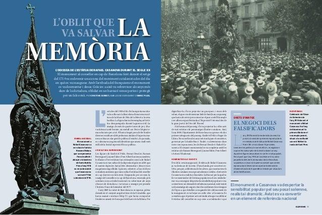 Rafael Casanova: L'Oblit que va Salvar la Memoria