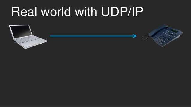 Real world with UDP/IP