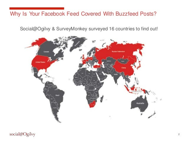 Why do people share on social media? Global survey results Slide 2
