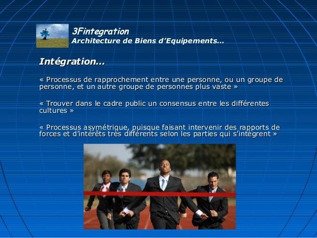 Intégration…Intégration… «Processusderapprochemententreunepersonne,ouungroupede«Processusderapprochementent...