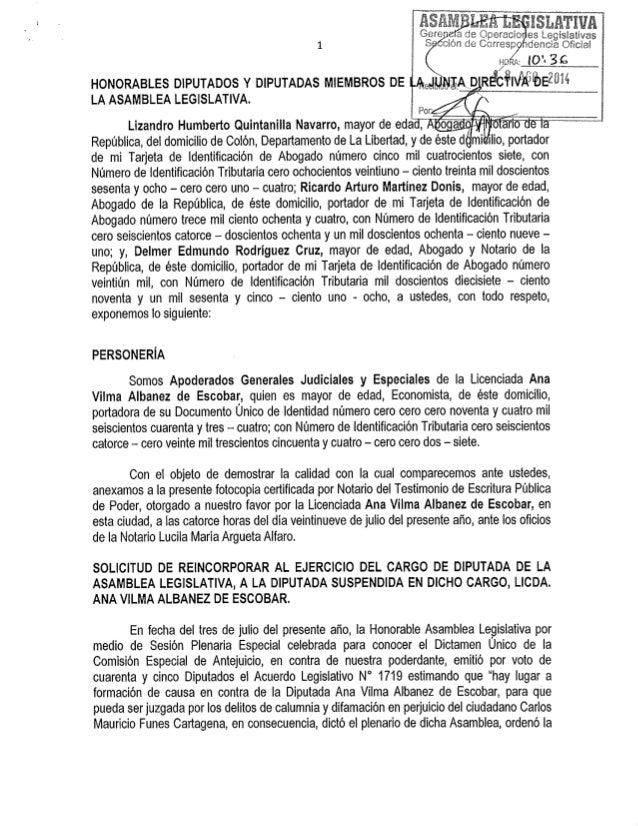 Gears 2 a de Opercio es Leglslativas  ; > dencia Olicial  S cior:  de Corresp % §; <?éz«: ._L(,2.': ..3_£9_. ____l HONORAB...