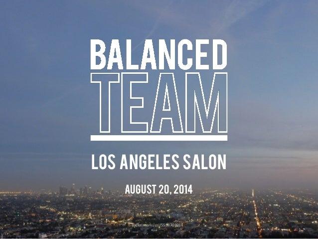 ! ! 1 flickr:  markusnl/5558708984 LOS ANGELES SALON August 20, 2014