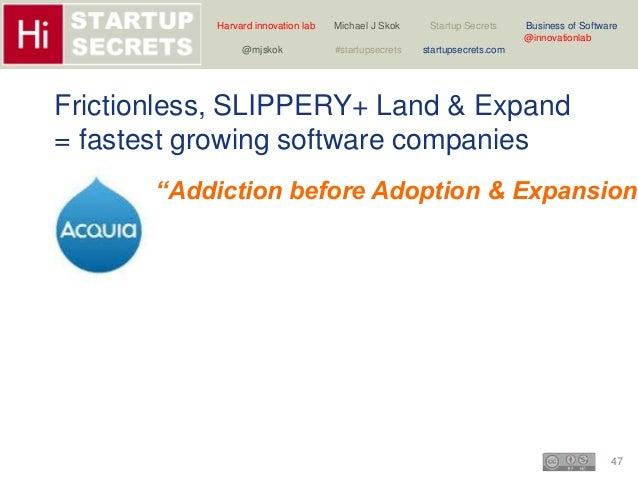 Harvard innovation lab Michael J Skok Startup Secrets Business of Software  47  @innovationlab  @mjskok #startupsecrets st...