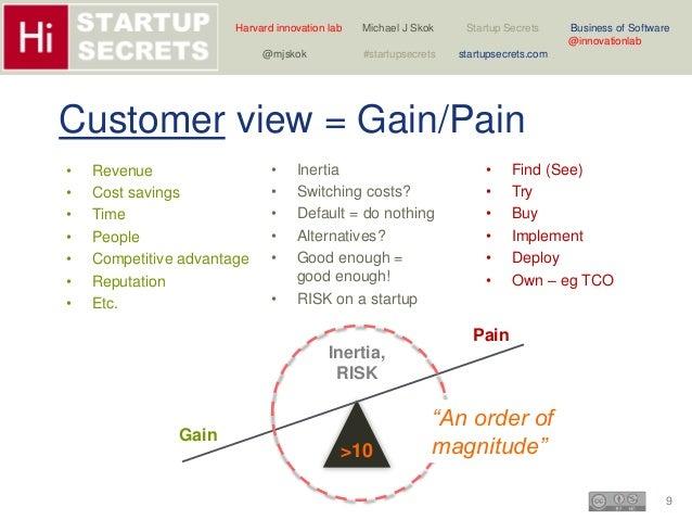 Harvard innovation lab Michael J Skok Startup Secrets Business of Software  9  @innovationlab  @mjskok #startupsecrets sta...