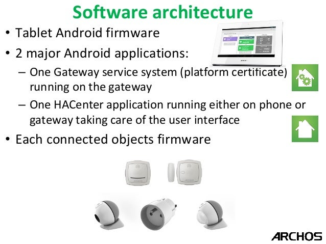 Archos Android based connected home solution - DroidCon