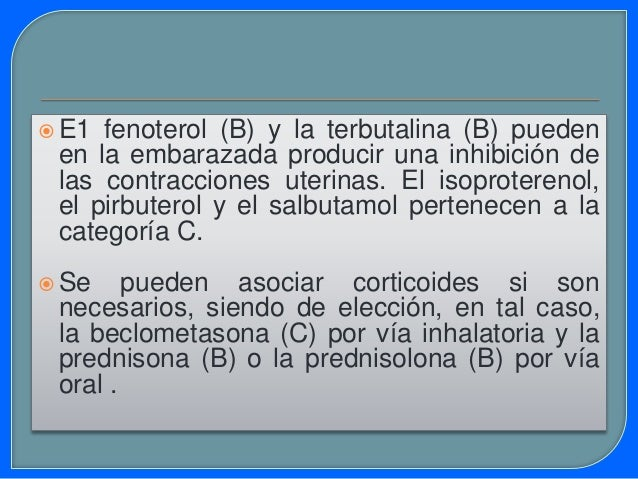 E1 uso de descongestionantes nasales en la embarazada debe ser muy conservador, ya que puede existir absorción sistémica ...