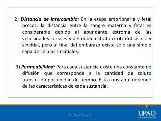3) Liposolubilidad: Las sustancias liposolubles atraviesan la placenta con más facilidad que las hidrosolubles. Las liposo...