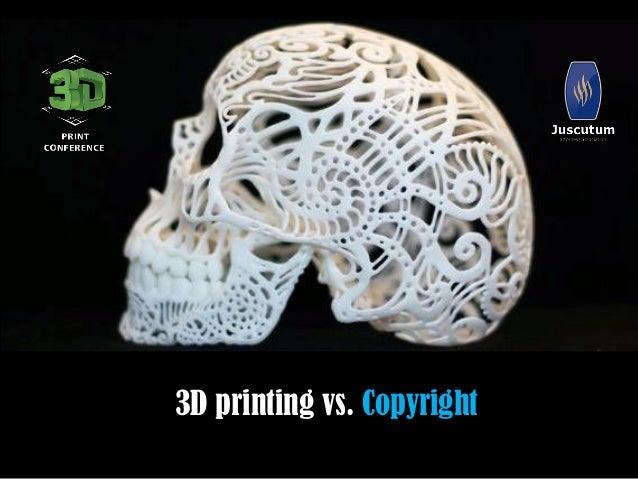 3D printing vs. Copyright