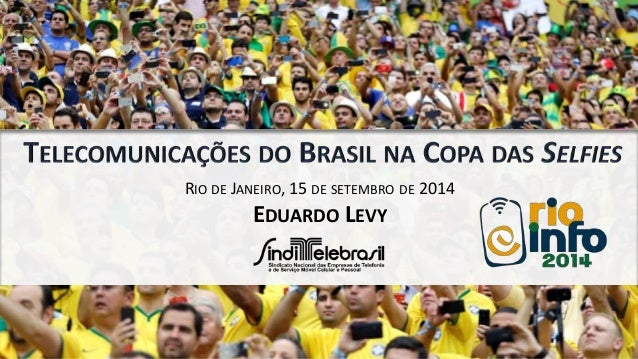 RIO DE JANEIRO, 15 DE SETEMBRO DE 2014  EDUARDO LEVY