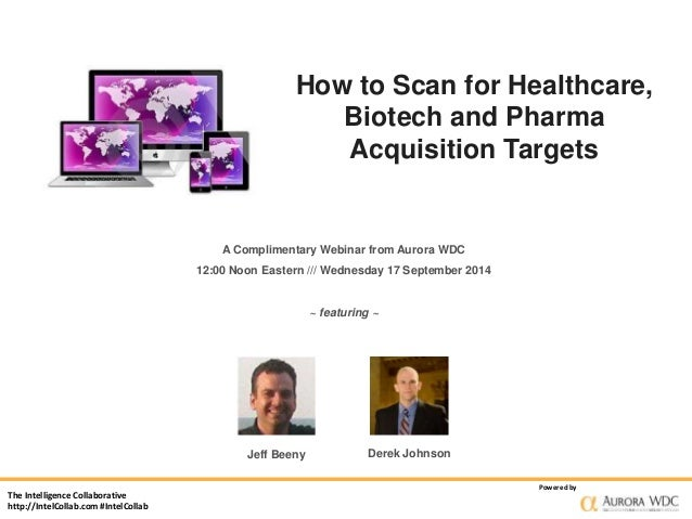 The Intelligence Collaborative  http://IntelCollab.com #IntelCollab  How to Scan for Healthcare,  Powered by  Jeff Beeny  ...
