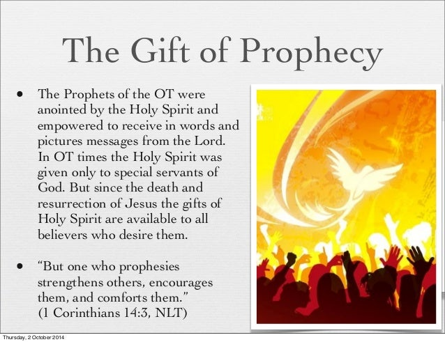 how to develop the spiritual gift of prophecy