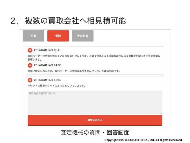 1.ウェブからいつでもどこでも利用可能  Mikata  写真はそのままアップロード。  リサイズ作業は「Mikata」にお任せください。  Copyright © 2014 SORABITO Co., Ltd. All Rights Rese...