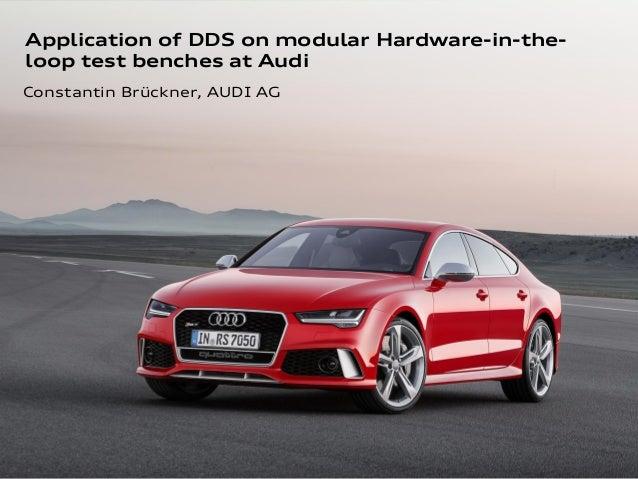 1 Performance-Optimierung durch Trennung von Testablauf und –auswertung, FKFS AutoTest 2014 Application of DDS on modular ...