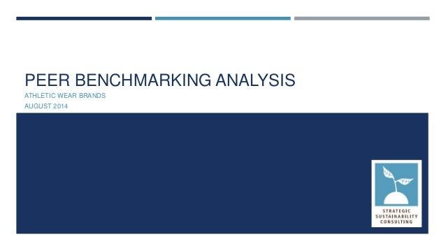 SSC Peer Benchmarking Analysis - Athletic Wear Brands
