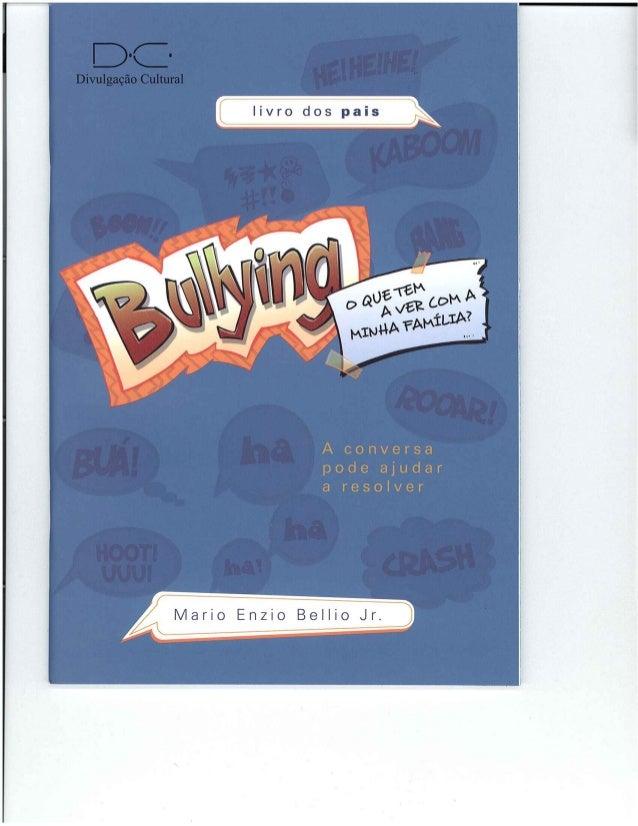 D~C~  Divulgação Cultural  livro dos pais     | /Iario Enzio Bellio Jr.